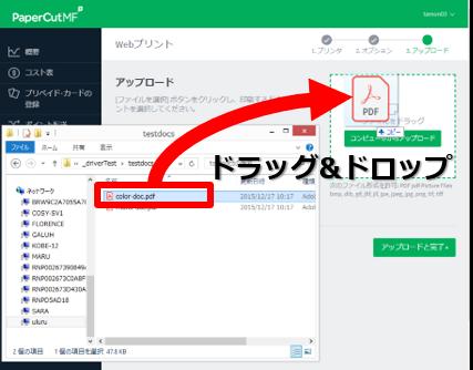 Web print procedure